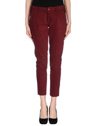 Truenyc. Trousers Casual Trousers Women Maroon