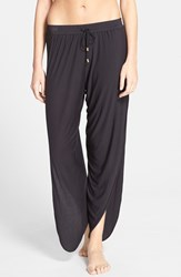 Women's Laundry By Shelli Segal Cover Up Pants Black