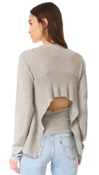 Cheap Monday Youth Knit Sweater Grey Melange