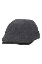 A. Kurtz 'Riley Ivy' Driving Cap Charcoal