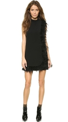 Nanette Lepore Cape Dress Black