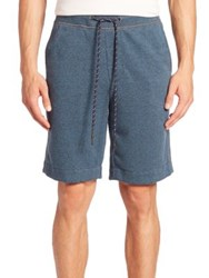 Surfside Supply Terry Towel Cotton Blend Shorts Indian Teal