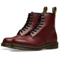 Dr. Martens 1460 8 Eye Smooth Leather Boot Burgundy