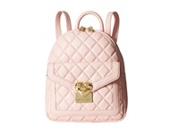 Love Moschino Quilted Emblem Mini Backpack Pink Backpack Bags