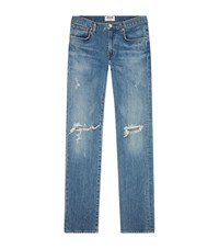 Agolde Skinny Hitch Blade Jeans Blue