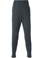 Label Under Construction Knitted Thermal Trousers Grey
