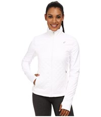 Asics Thermopolis Windblocker Jacket Real White Women's Workout