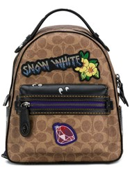 Coach X Disney Snow White Backpack Nude And Neutrals