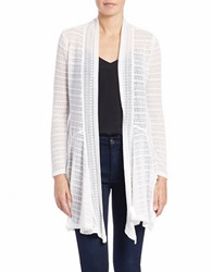 Jessica Simpson Open Front Cardigan Cloud Dance