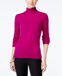 Charter Club Cashmere Turtleneck Sweater Only At Macy's 16 Colors Available Bright Ceris