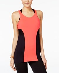 Jessica Simpson The Warm Up Juniors' Compression Tank Top Only At Macy's Glowing Ember