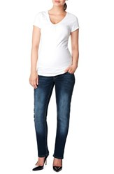 Women's Noppies 'Mena Comfort' Over The Belly Straight Leg Maternity Jeans