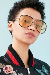 Urban Outfitters 1979 Aviator Sunglasses Brown
