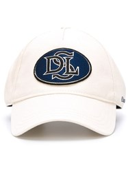 Diesel Embroidered Patch Baseball Cap Nude And Neutrals