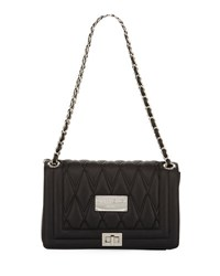 Valentino By Mario Valentino Alice Quilted Flap Shoulder Bag Black