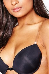 Boohoo Clear Silicone Adjustable Bra Straps Clear