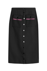 Marco De Vincenzo Midi Skirt Black