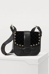 Vanessa Bruno Gemma Velvet Cross Body Bag
