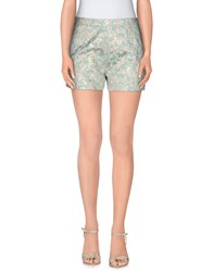 Macri Trousers Shorts Women Light Green
