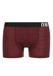 Only And Sons Onssid Shorts Zinfandel Dark Red
