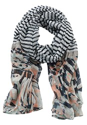 Betty Barclay Long Striped Scarf Multi Coloured Multi Coloured