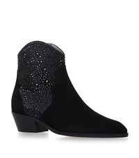 Gina Tansy Jewelled Ankle Boots Female Black