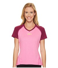 Louis Garneau Hto 2 Jersey Pink Glow Magenta Purple Women's Clothing