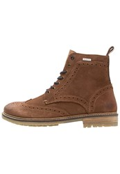 Superdry Brad Stamford Laceup Boots Tan