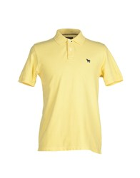 Woolrich Topwear Polo Shirts Men Yellow