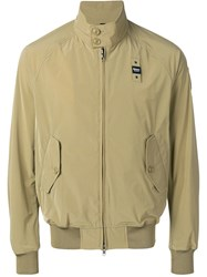 Blauer Zip Lightweight Jacket Green