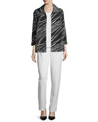 Caroline Rose Good Vibrations Jacket Black White