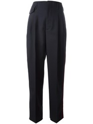 Golden Goose Deluxe Brand Side Stripe Trousers Blue