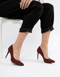 New Look High Pointed Court Red