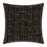 Amara Beaded Art Deco Cushion 45X45cm