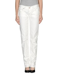 M.Grifoni Denim Casual Pants White