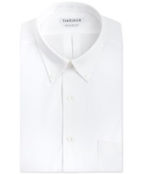 Van Heusen Easy Care Pinpoint Oxford Dress Shirt White