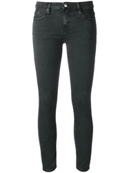 Iro Low Rise Skinny Jeans Black