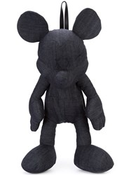 Christopher Raeburn Disney Mickey Mouse Backpack Unisex Cotton Spandex Elastane One Size Blue