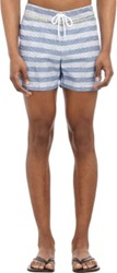 Parke And Ronen Chora Stripe Swim Trunks Multi