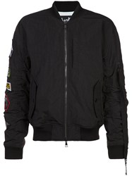 Haculla Pray For Revolution Bomber Jacket Black