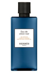 Hermes Eau De Citron Noir Hair And Body Shower Gel No Color