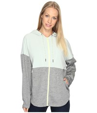 Columbia Lost Lager Hoodie Sedona Sage Heather Cool Green Spring Yellow Women's Sweatshirt Gray