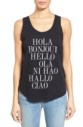 Women's Signorelli 'Hello' Graphic Scoop Neck Tank