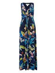 Monsoon Camille Maxi Dress Navy