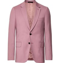 Paul Smith Dusty Pink A Suit To Travel In Soho Slim Fit Wool Suit Jacket Pink