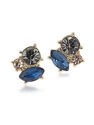 Abs By Allen Schwartz Somewhere To Be Goldtone Cluster Stud Earrings