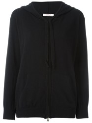 Liska Hooded Cardigan Black