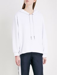 The Kooples Laced Stretch Cotton Hoody Bla00