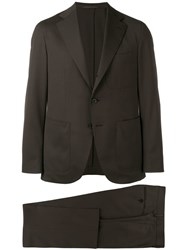 Caruso Classic Formal Suit Brown