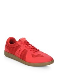 Swims Luca Lace Up Sneakers Grey Teal Lava